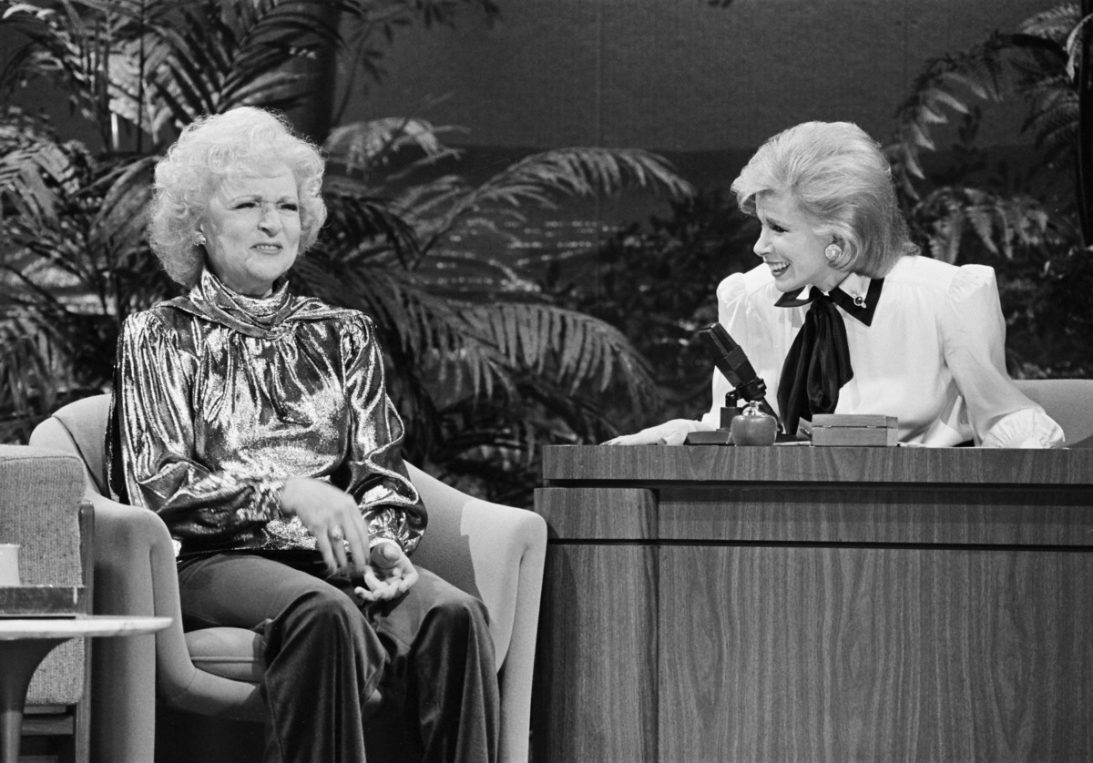 Betty White - Tonight Show-1986
