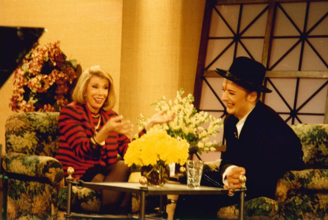 Joan Rivers & Boy George